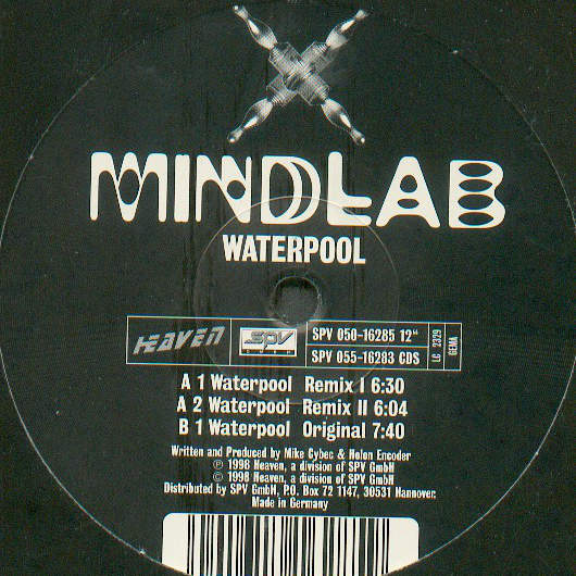 MINDLAB - Waterpool - 12 inch 45 rpm
