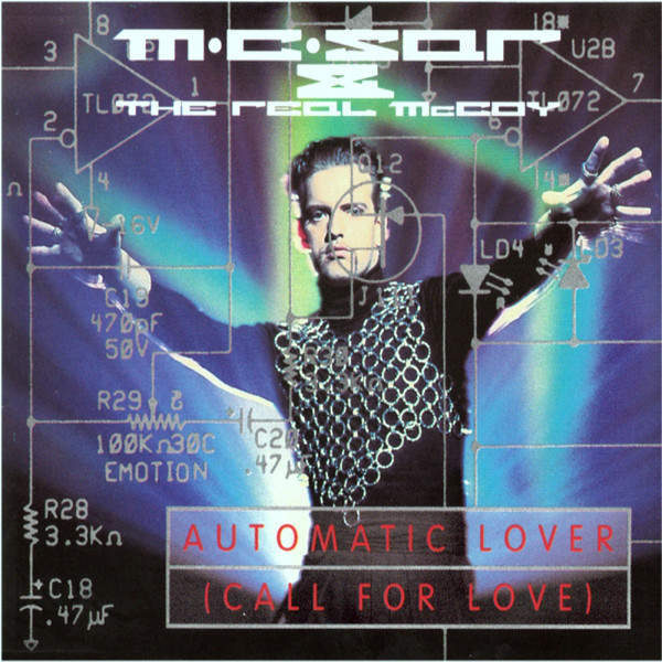 REAL MCCOY - Automatic Lover (Call For Love) - Maxi 45T