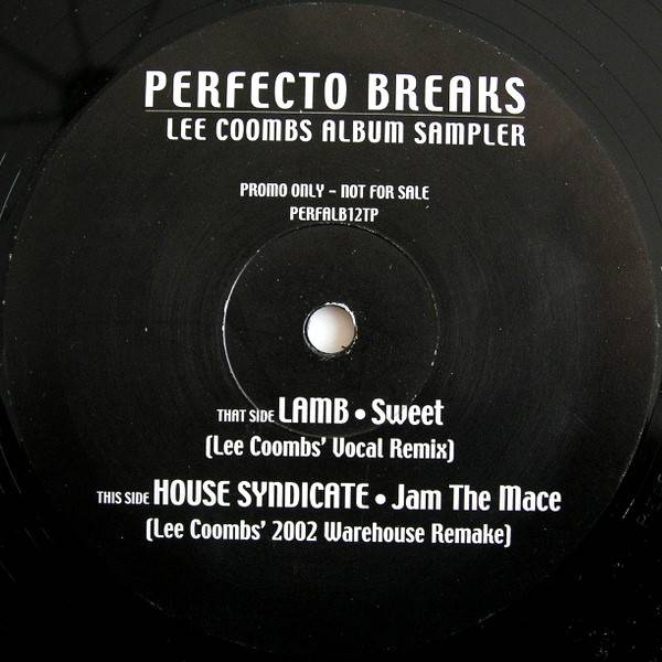LEE COOMBS - Perfecto Breaks (Album Sampler) - Maxi 45T