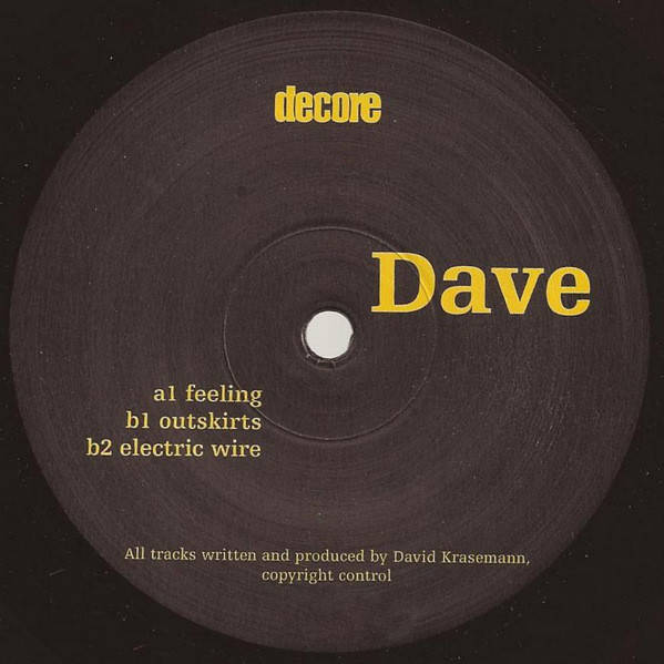 DAVE - Untitled - Maxi 45T
