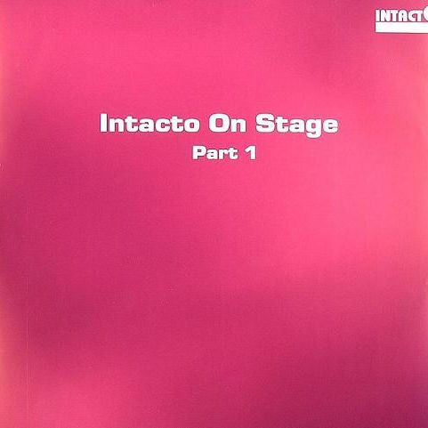 DAVE ELLESMERE / POLDER - Intacto On Stage Part 1 - Maxi 45T