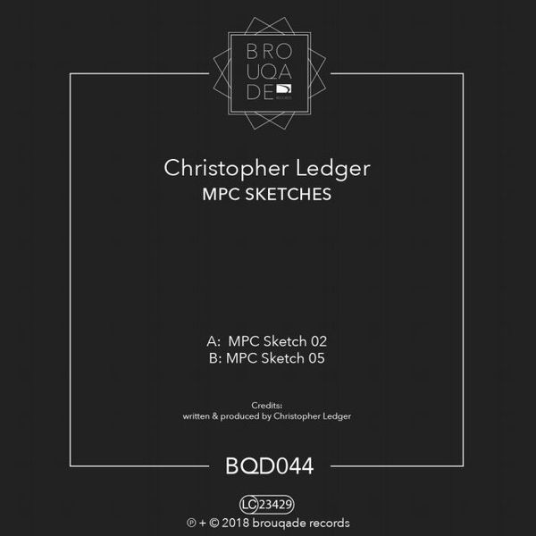 CHRISTOPHER LEDGER - Mpc Sketches - Maxi 45T