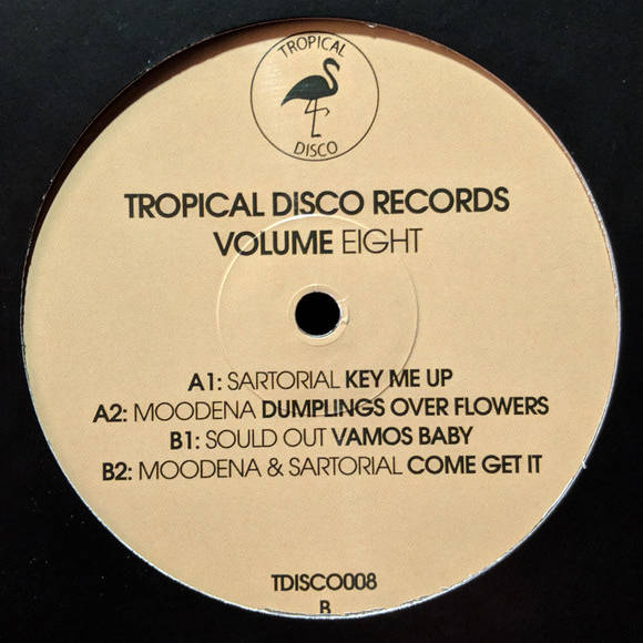 MOODENA  SARTORIAL  SOULD OUT - Tropical Disco Records Volume Eight - Maxi 45T