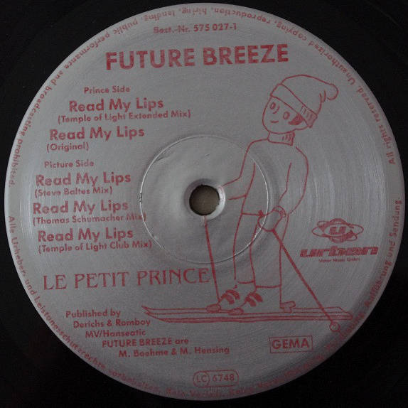 FUTURE BREEZE - Read My Lips (Remixes) - 12 inch 45 rpm