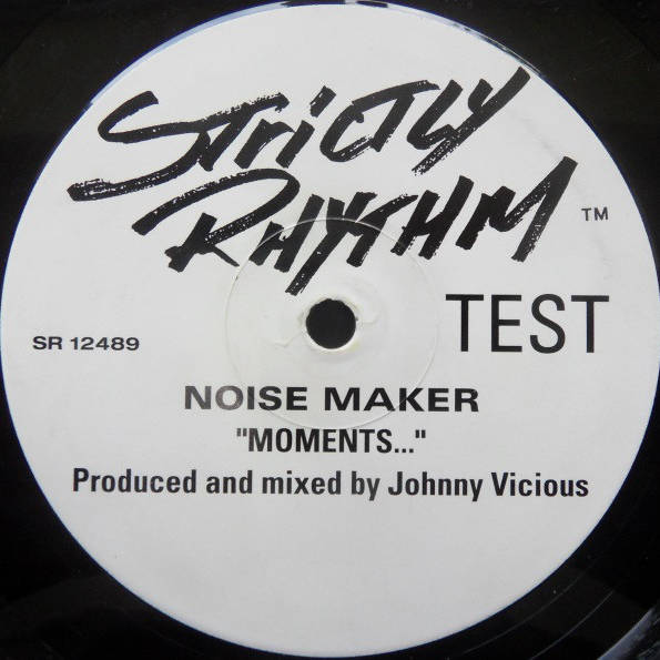 NOISE MAKER - Moments... - 12 inch 45 rpm