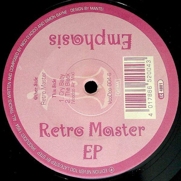 Emphasis Retro Master EP