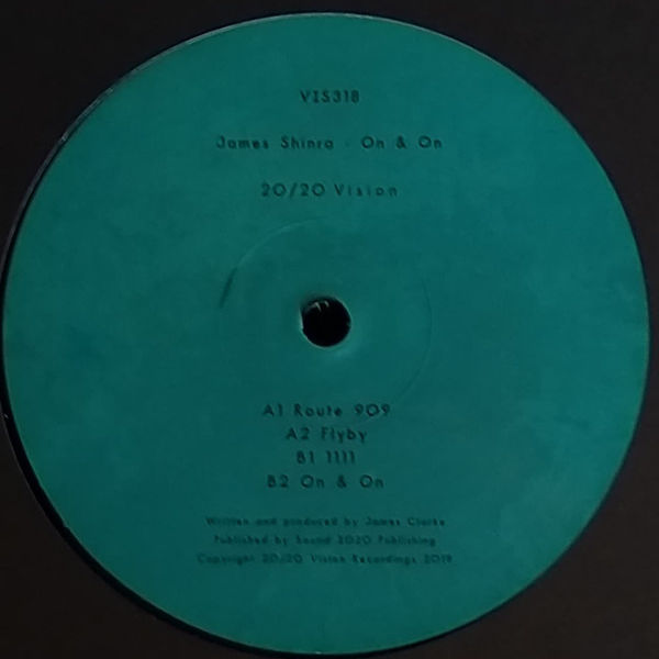 JAMES SHINRA - On & On - Maxi 45T