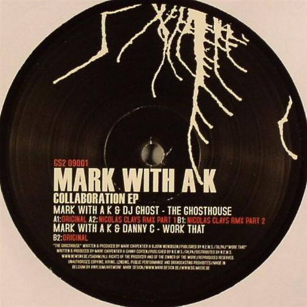 MARK WITH A K - Collaboration EP - Maxi 45T