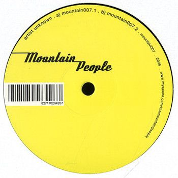 UNKNOWN ARTIST - Mountain007 - 12 inch 45 rpm