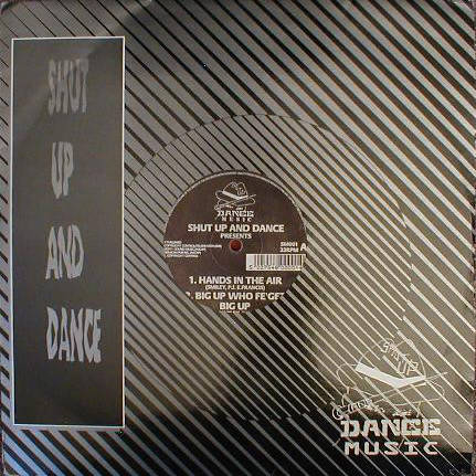 SHUT UP & DANCE - Hands In The Air - Maxi 45T