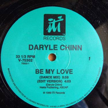 Daryle Chinn Be My Love