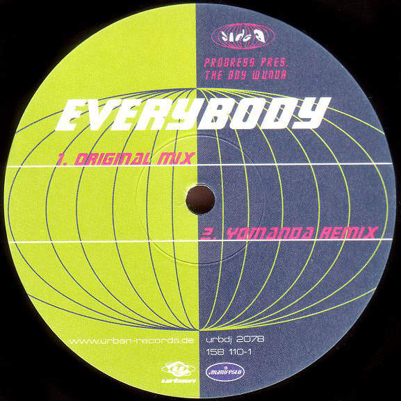 PROGRESS PRES. THE BOY WUNDA - Everybody - Maxi 45T