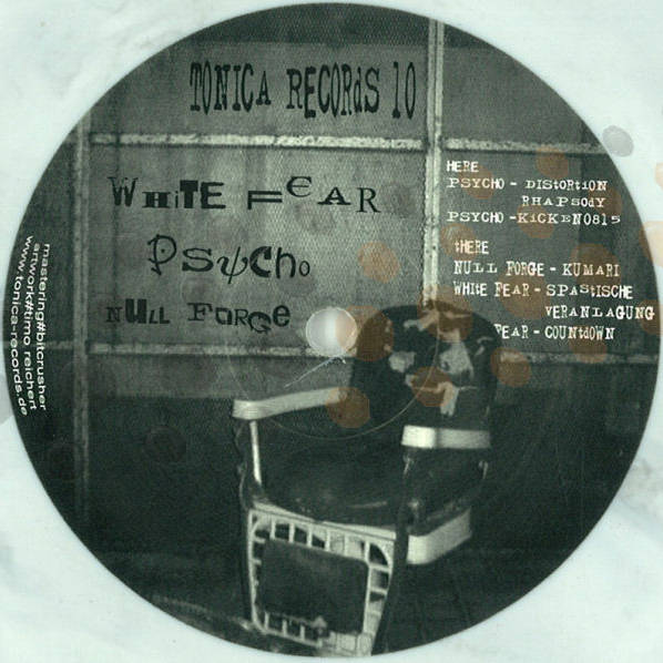WHITE FEAR / PSYCHO / NULL FORGE - Untitled - Maxi 45T