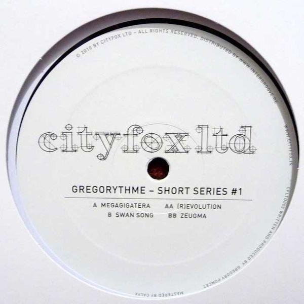 Gregorythme Short Series #1