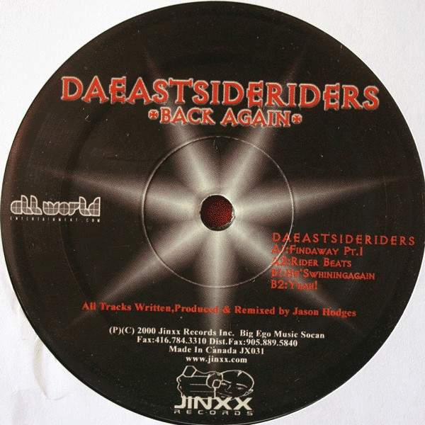Da Eastsideriders Back Again