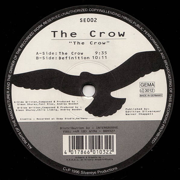 THE CROW - The Crow - Maxi 45T