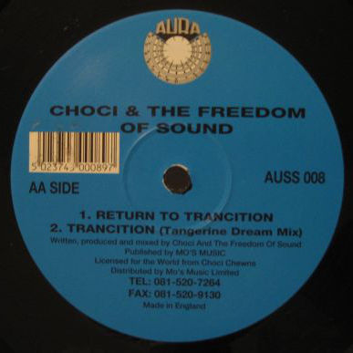 CHOCI & FREEDOM OF SOUND - The Concept Of Roundness And Neuro-Umbilical Energy - Maxi 45T