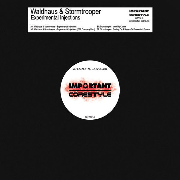 STORMTROOPER & WALDHAUS - Experimental Injections - Maxi 45T