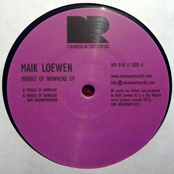 Maik Loewen Middle Of Nowhere EP