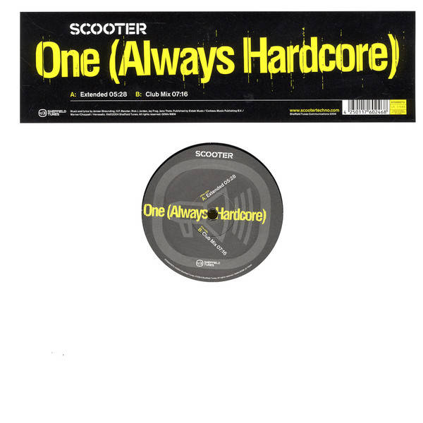 SCOOTER - One (Always Hardcore) - Maxi 45T