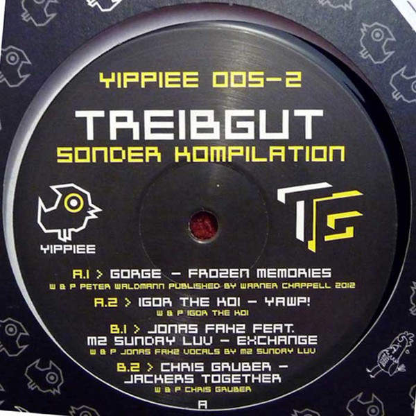 VARIOUS - Treibgut - Sonder Kompilation Part 2 - Maxi 45T