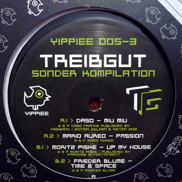 VARIOUS - Treibgut - Sonder Kompilation Part 3 - Maxi 45T