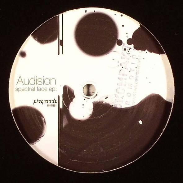 AUDISION - Spectral Face EP - Maxi 45T