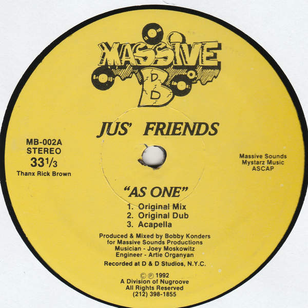 Jus' Friends As One