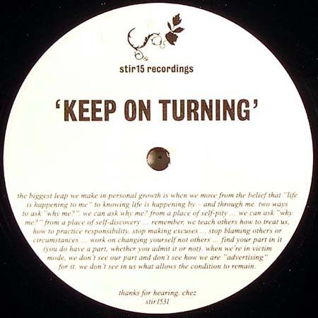 KIDS IN THE STREETS - Keep On Turning - 12 inch 45 rpm