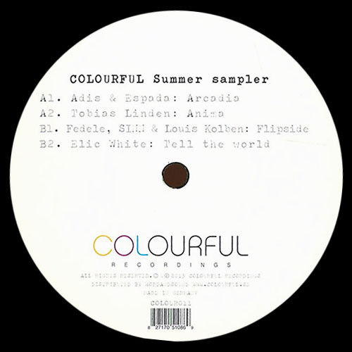 VARIOUS - Colourful Summer Sampler - Maxi 45T