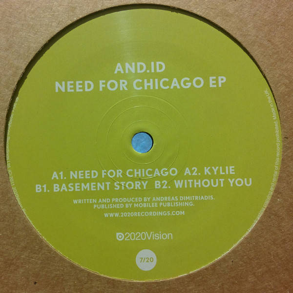 And.Id Need For Chicago EP