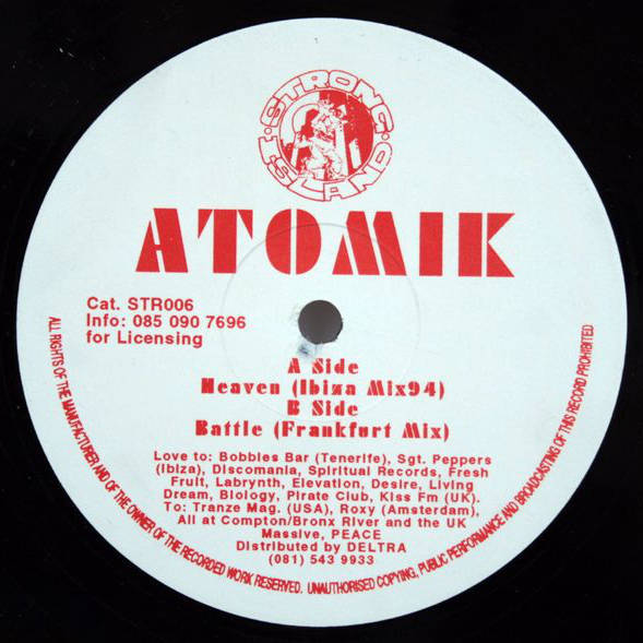 ATOMIK - Heaven / Battle - Maxi 45T