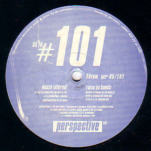 ROY DAVIS JR. - US EP #101 - 12 inch 45 rpm