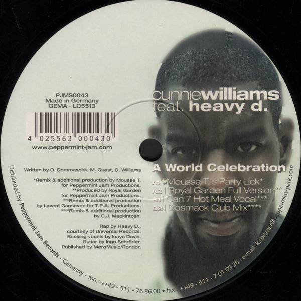 Cunnie Williams Feat. Heavy D A World Celebration