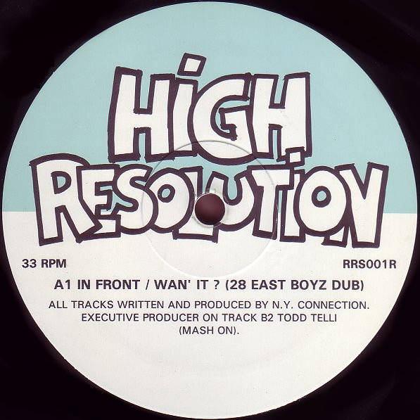 N.Y. CONNECTION - In Front / Wan' It? (Remixes) - Maxi 45T