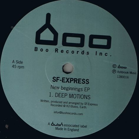 SF Express New Beginnings EP