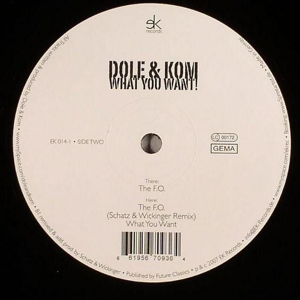 Dole & Kom What You Want!